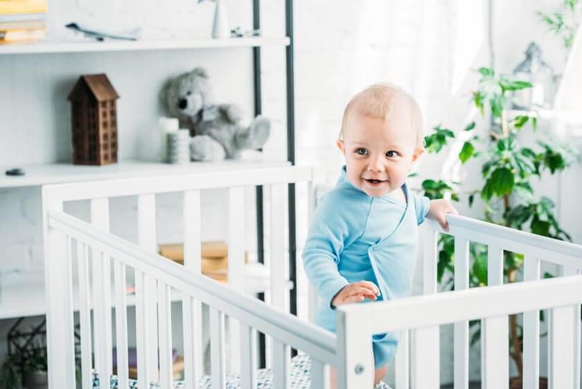 Babybett-Test