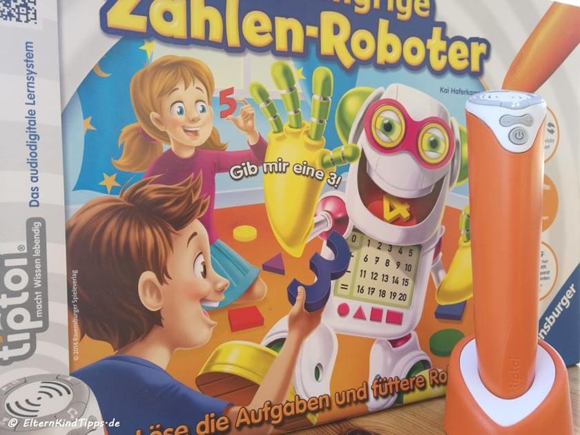 Tiptoi Stift plus Spiel Zahlen Roboter