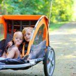 Fahrradanhänger Vergleich 2021 - Die Top 3 - Thule bester Kinderfahrradanhänger