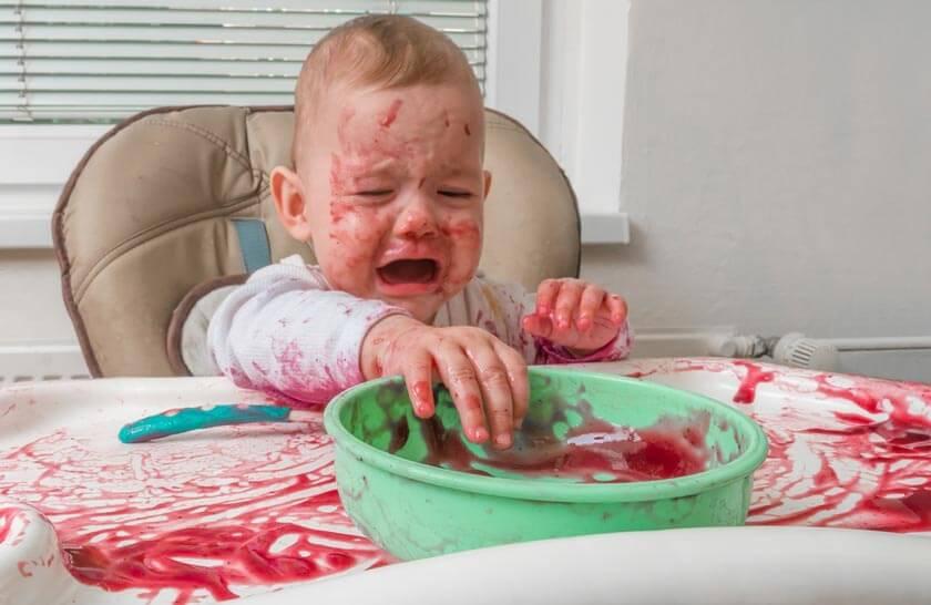 Kindergeschirr-Test