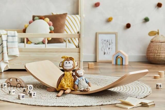 Balance Board für Kinder im Kinderzimmer