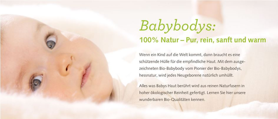 hessnatur Bio-Babybodys