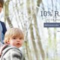 hessnatur Familienwochen mit 10 Prozent Rabatt