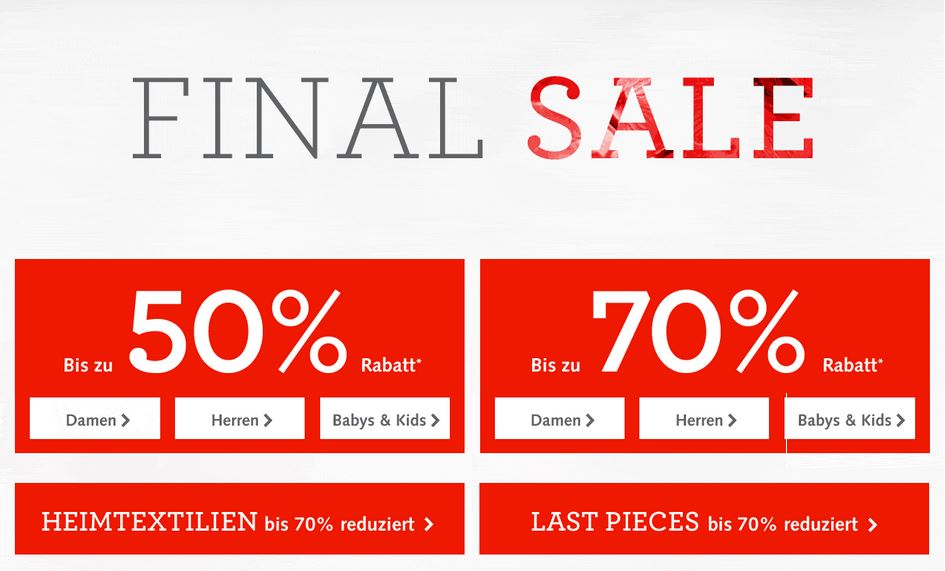 hessnatur Final Sale