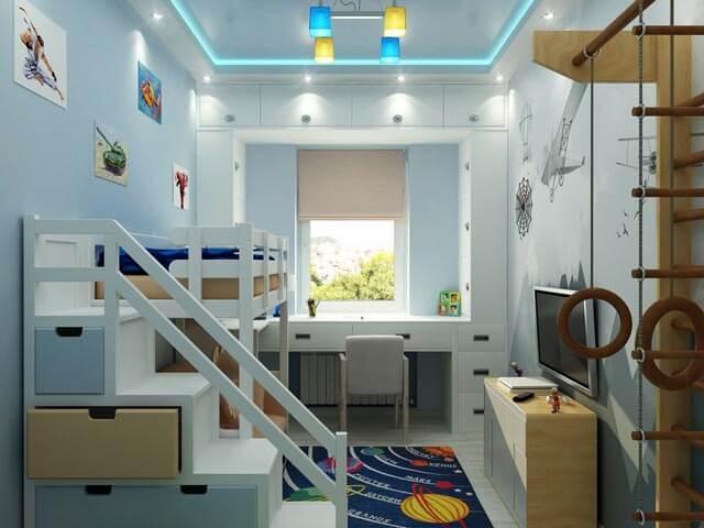 Beispiel Kinderbetten für kleine Kinderzimmer
