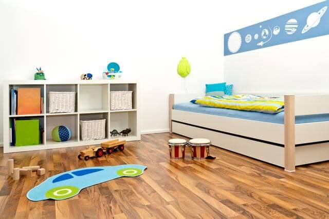Ab wann Kinderbetten ohne Gitter?