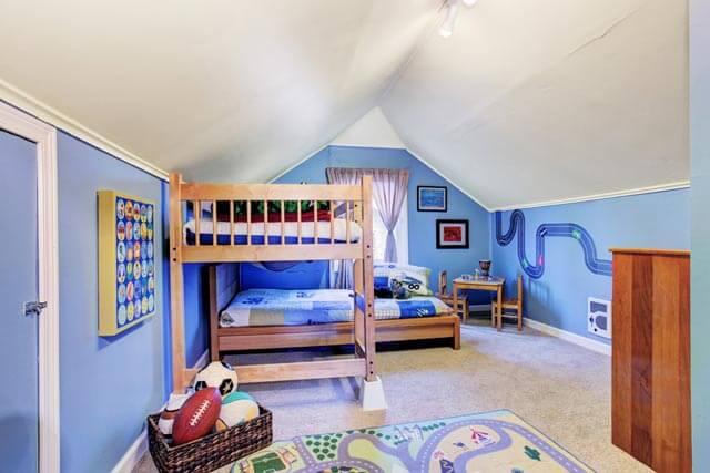Kombi aus Kinderbett, Hochbett & Kinderhochbett